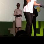 Ida Aukens kjole bar bæredygtig kjole fra rachel kollerup ved Sustania Award Ceremony